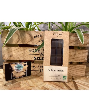 chocolat noir au embrun breton