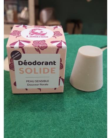 Déodorant solide florale