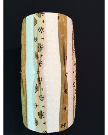 Abat-jour cheminée plissé